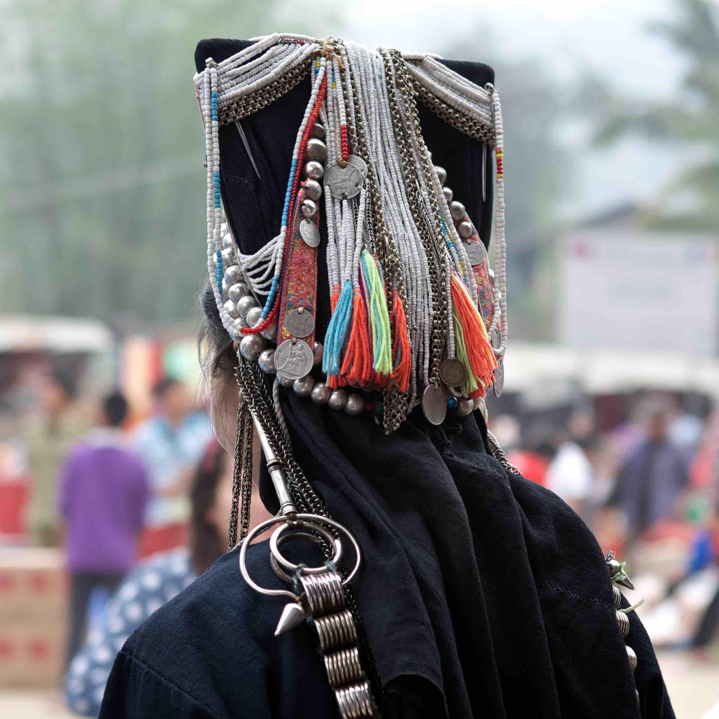 northern-laos-phongsali-hatsa-people-decorated-hat-tiger-trail-photo-by-cyril-eberle-CEB-8266